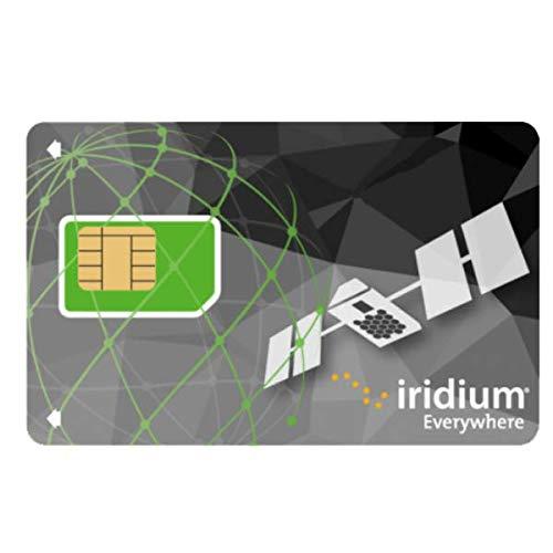 Tarjeta SIM de Prepago Iridium inactiva - lista para la compra de tiempo aire de prepago (No incluye tiempo de uso)