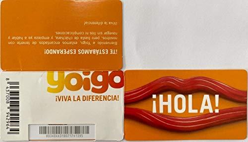 Tarjeta SIM Yoigo Prepago+ 6gb +200Minutos en Llamadas