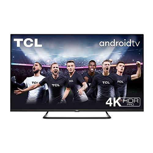 TCL 50EP680 Televisor de 126 cm (50 pulgadas), Smart TV con Resolución 4K UHD, HDR10+, Micro Dimming Pro, Alexa, Android TV, Google Assistant Multicolor