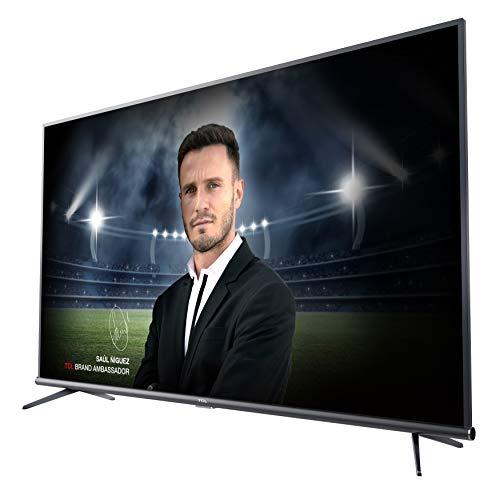 TCL 55DP660 Televisor 55 Pulgadas, Smart TV con Resolución 4K UHD, HDR10, Micro Dimming Pro, Android TV, Alexa, Google Assistant