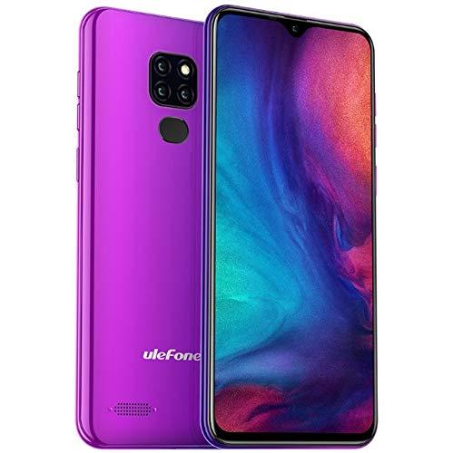 Teléfono móvil (2019), Ulefone Note 7P, 4G Dual SIM Smartphone Libres - 6.1 '' Pantalla de Gota de Agua, Android 9.0, MTK6761 2.0GHz 3GB RAM 32GB ROM, Triple cámara Trasera, GPS, OTG Crepúsculo