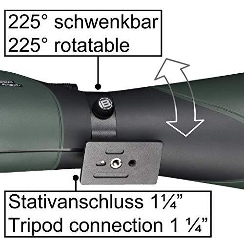 Telescopio terrestre BRESSER Pirsch 25-75x100 Generación II con Enfoque Deluxe 10:1