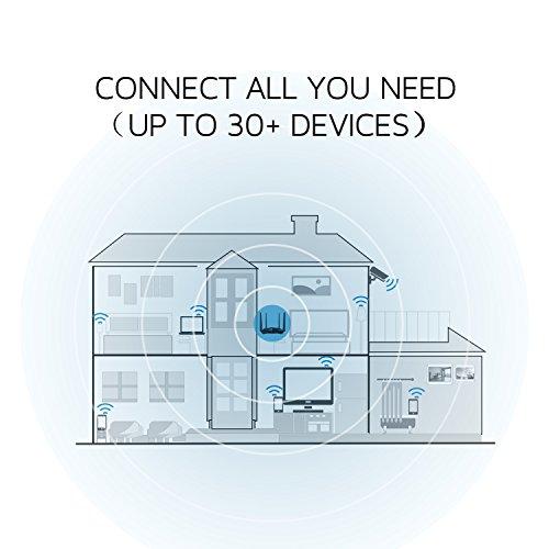 Tenda AC10U Router WiFi inalámbrico (AC1200 Doble Banda 5 GHz a 867 Mbps, 2,4 GHz a 300 Mbps, 1*USB 2.0, Gaming, Beamforming+, Gigabit, 4 Antenas 5dBi, , App Control, Memoria DDR 128 MB )