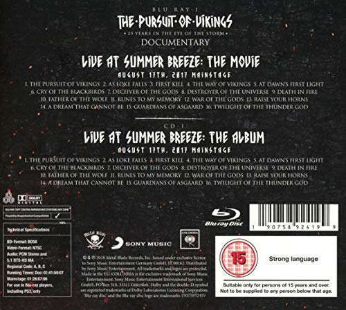 The Pursuit Of Vikings [Blu-ray]