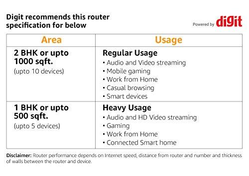 TP-Link Archer C50 - Router inalámbrico de doble banda, 1200 Mbps, 2.4 GHz a 300 Mbps y 5 GHz a 867 Mbps, 4 antenas externas de doble banda, Fast Ethernet, puerto de 100 Mbps, blanco