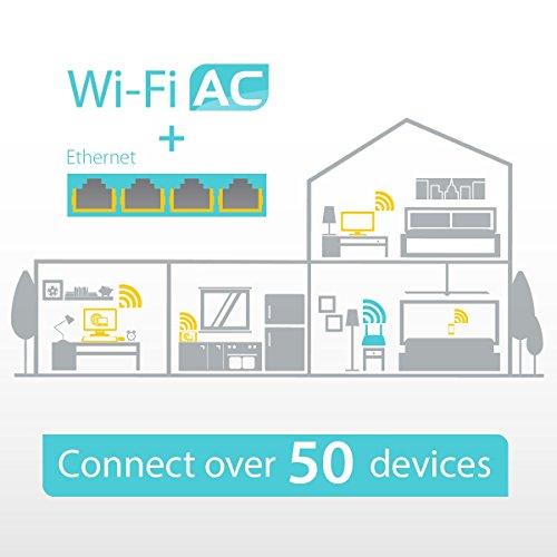 TP-Link Archer MR200 - Router WiFi 4G LTE AC750, Doble Banda, MicroSim, Antena desmontable, Puertos LAN/WAN, Compatible con todos los operadores, Fácil Configuración, Control Parental