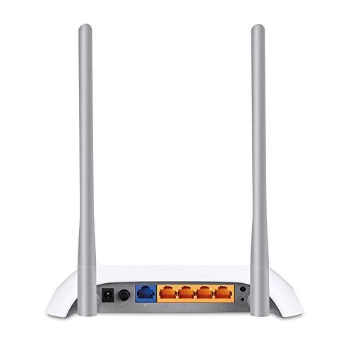 TP-Link TL-MR3420 - Router Wi-Fi (300 Mbps 3G / 4G, 1 puerto UBS 2.0, botón WPS, sin necesidad de configuración, enchufe de la UE)