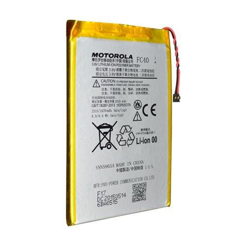 TPC© Bateria Original Motorola FC40 para Motorola Moto G 3, 3ª Gen XT1540, XT1541, XT1542, XT1550, XT1048, 2315mAh, Bulk
