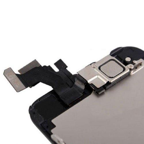 Trop Saint® Pantalla para iPhone 5 Negro - Kit de reparación LCD Completo - con Guía 5 lenguas, Superficie de Trabajo magnética, Herramientas y Film Protector Pantalla