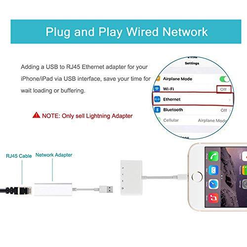 UWECAN Adaptador de Lector de Tarjeta SD,Kit Conexión de Cámara USB 4 en 1,Adaptador de Lector Tarjeta TF,Lector Tarjeta SD de Cámara Trail Game,Cable USB 2.0 OTG Hembra para Phone y Pad