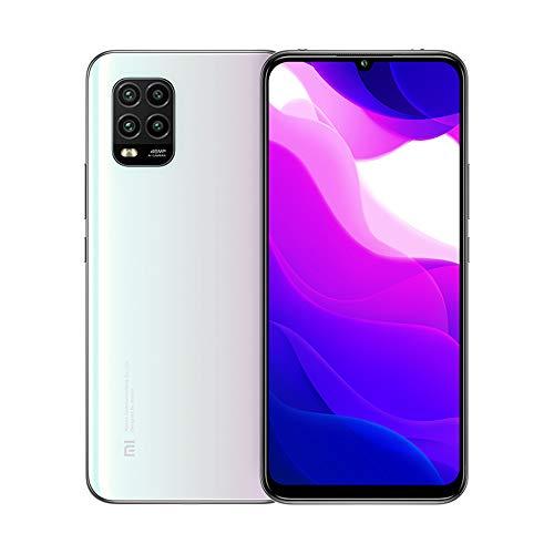 Xiaomi Mi 10 Lite 5G 6GB 64GB Smartphone Qualcomm Snapdragon 765G Octa Core 48MP AI Quad Cameras 6.57 '' AMOLED TrueColor Display Teléfono móvil NFC (Blanco)