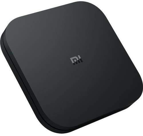 Xiaomi MI TV BOX S - Reproductor streaming en 4K Ultra HD, Bluetooth, Wi-Fi, Asistente de Google con Chromecast, Negro