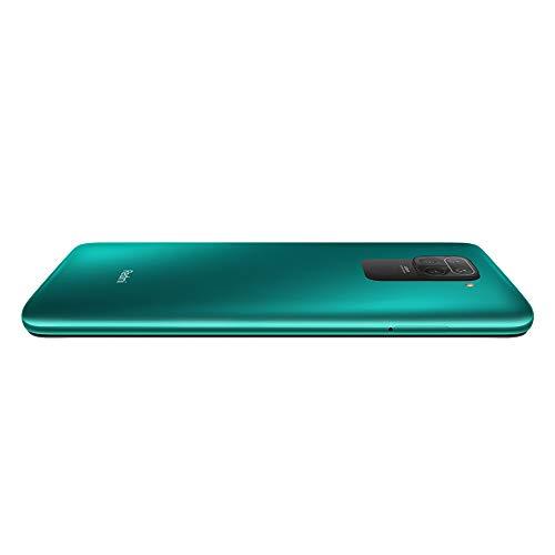 "Xiaomi Redmi Note 9 16,6 cm (6.53"") 4 GB 128 GB SIM Doble 4G USB Tipo C Verde 5020 mAh Redmi Note 9, 16,6 cm (6.53""), 2340 x 1080 Pixeles, 4 GB, 128 GB, 48 MP, Verde Sin función NFC"