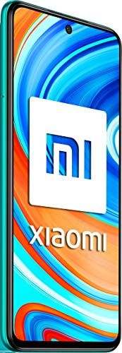 "Xiaomi Redmi Note 9 Pro - Smartphone de 6.67"" (6 GB RAM, 64 GB ROM, cámara AI Quad de 64 MP, batería de 5020 mAh) Tropical Green [Versión Internacional]"