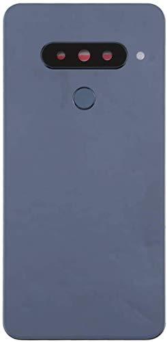 XIUYU Batería Cubierta Trasera con Sensor de Huellas Dactilares Lente de la cámara for LG G8s Thinq Multiuso