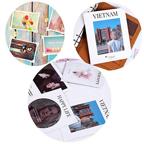 You&Lemon 24 hojas Esquinas de fotos Pegatinas de esquinas de fotos autoadhesivas Esquinas de montaje de fotos álbum de recortes de bricolaje Imagen