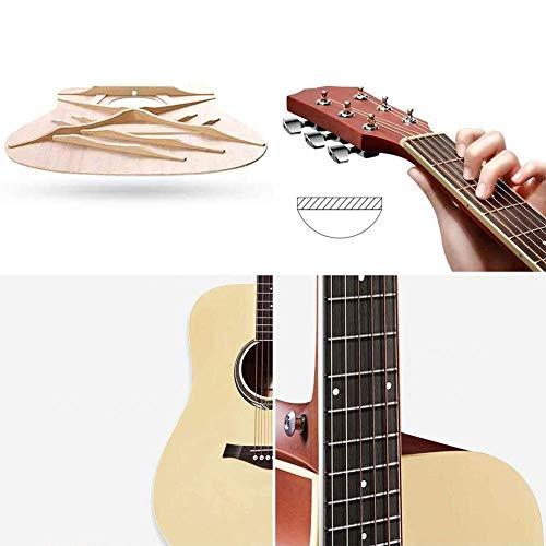 Zjcpow Guitarra acústica, Real Wood Alambre de Cuerda Buen Efecto de resonancia de Sonido preciso con Mochila Cutaway for su Hija de 40 '', 3 Colores (Color: Naranja, Tamaño: 101.6cm) xuwuhz