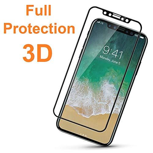 2X Protector de Pantalla 3D para Samsung Galaxy A5 2017, Rosa, Protección Completa, 3D / 4D / 5D