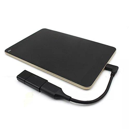Adaptador USB C OTG a USB 3.0/3.1 convertidor hembra USB A cable, compatible con Samsung Galaxy Note 8, S8 S8+ S9, iPad Pro 2018, Nexus 6P 5X, LG V20