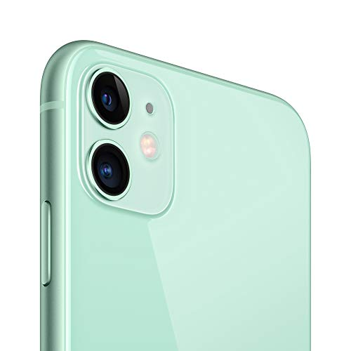 Apple iPhone 11 (64GB) - Verde (incluye Earpods, adaptador de corriente)