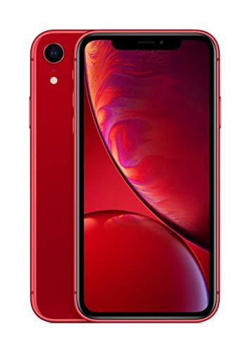 Apple iPhone XR (64GB) - (PRODUCT)RED (incluye Earpods, adaptador de corriente)