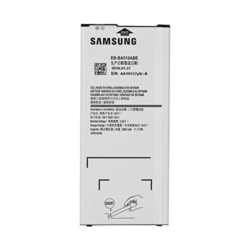 Batería Original Samsung Eb-BA510ABE 2900 mAh Carga rápida 2.0 para Galaxy A5 2016 – Bulk sin Caja