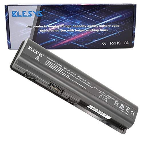 BLESYS 484170-001 Batería para HP Compaq Presario CQ61-330ss DV5-1160es DV6-1110ss DV6-1115es DV6-1290es DV6-2000 DV6-2108sf DV6-2150es DV6-2168es G61-425es Ordenador portátil 10.8V 4400mAh 6-Célula