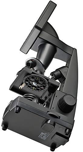 "Bresser - Microscopio de enseñanza LCD 8.9cm (3.5"") 50x-500x (2000x digital), 5 megapixel"
