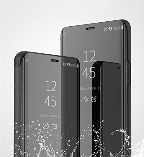 Carcasa Samsung Galaxy A5 2017 a520 Funda Mirror Funda Flip Tapa Libro Carcasa Funda de Espejo Flip Caso Galaxy a3 2017 Teléfono Shell Cover para Samsung Galaxy A7 2017 A720 (Rose, Galaxy A5 2017)