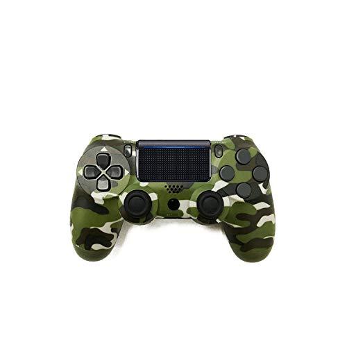 Controlador de juegos extra duradero |Controlador inalámbrico Bluetooth Gamepad para PS4 Playstation 4 Control de consola Joystick Controlador para PS4 Dualshock 4-Orange-