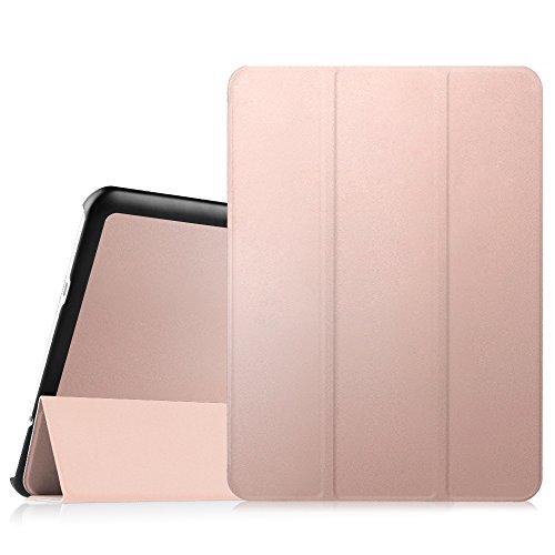 """Fintie SlimShell Funda para Samsung Galaxy Tab S2 9.7"""" - Súper Delgada y Ligera Carcasa con Función de Auto-Reposo/Activación para Modelo SM-T810N / T815N / T813N / T819N, Oro Rosa"""