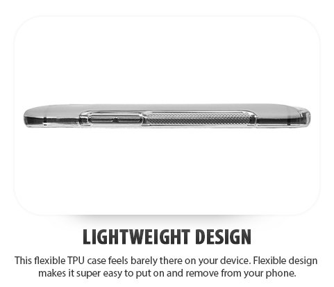 Funda HTC One mini 2, Cimo [Ondulado ] Carcasa de Plástico Fino, Antideslizanteible y Suave para HTC One mini 2 (2014) - Negro