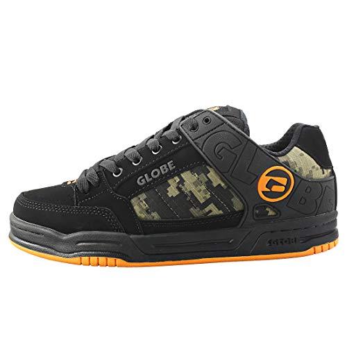 GLOBE Tilt, Zapatillas de Skateboarding Hombre, Negro (Black/Camo/Orange 20388), 44 EU (10.5 US)