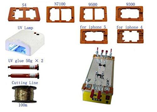 GOWE (LCD separador de máquina LCD pantalla táctil montaje separador Máquina de reparación de pantalla dividida para iPhone Samsung iPad
