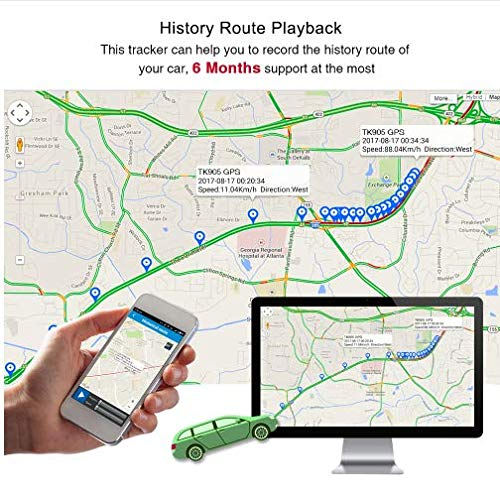 Hangang Mini GPS Tracker anti Thief Mini en tiempo real GPS Tracker GPS portátil Tracking anti Loss localizador GPS para bolsa bolso Wallet Bags Kids Satchels documentos