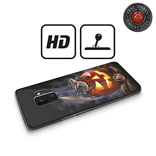 Head Case Designs Oficial Anne Stokes Truco o Trato Dragones 5 Carcasa de Gel de Silicona Compatible con Samsung Galaxy A5 (2017)