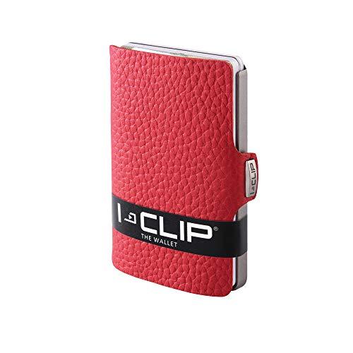 I-CLIP ® Cartera Pure Rojo (Disponible En 5 Variantes)