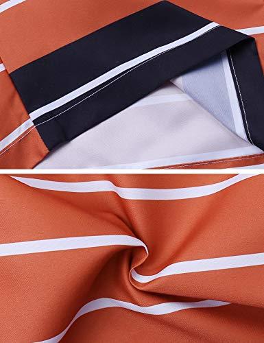 iClosam Hombre Pantalones Cortos Playa Poliéster de Bañador de Secado rápido de Verano para Hombres Deporte Ligero Moda con cordón Ajustable