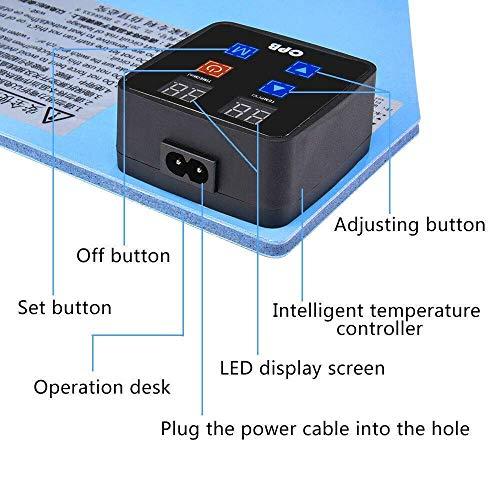 Máquina separadora de pantalla LCD, TOPQSC Alfombrilla calefactora CPB, Máquina separadora de vidrio con pantalla LCD de calor, Herramienta de reparación de placas de precalentamiento para iPad iPhone