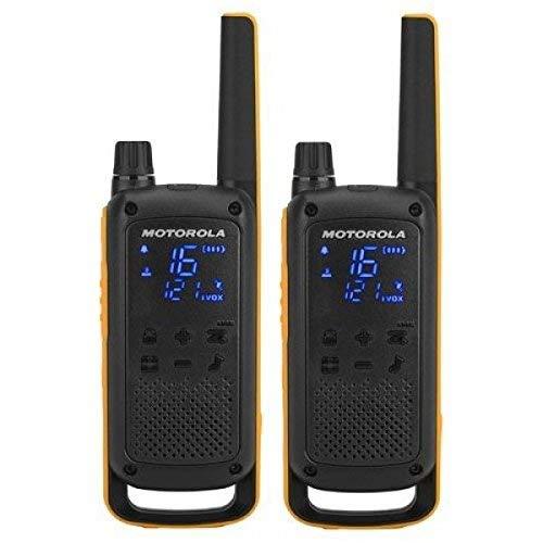 Motorola Talkabout T82 Extreme RSM (micrófono de Altavoz Remoto) 2 vías Walkie Talkie Radio, 2 vías, Color Amarillo y Negro