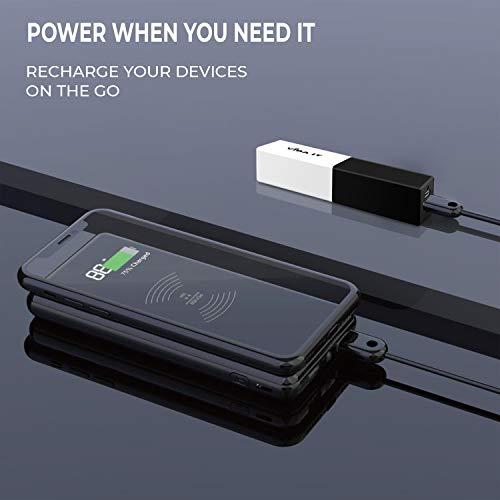 New 2000 mAh IT Vida A60 Batería externa (negro/blanco) para Apple iPhone 4 4S 5 5S 6 Plus 6 S Samsung Galaxy S3 S4 S5 S6 Sony Xperia Z Z1 Z2 Z3 teléfono móvil y Smartphones