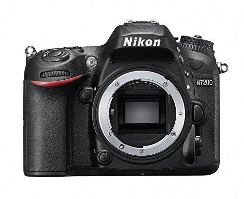 Nikon D7200 - Cámara Digital (24,2 MP, 6000 x 4000 Pixeles, CMOS, Full HD, 675 g, Negro)