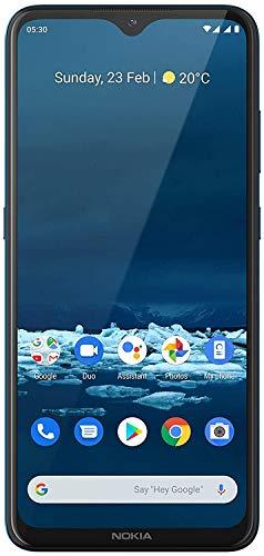 Nokia 5.3 -Smartphone de 6,55'' (4 GB RAM, 64 GB ROM, Cámara trasera de 13MP+5MP +2MP+2MP , Bateria 4000 mAh , Dual Sim), Cyan