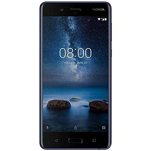 "Nokia 8 Single SIM - Smartphone, 13,5 cm (5.3""), 128 GB, 6 G, 13 MP, Android, 7.1.1, Azul"