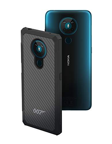 Nokia Kevlar Case 007 Special Edition - Carcasa para Nokia 5.3, Color Gris Oscuro