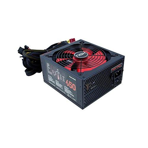 Nox NX 650W - NXS650 - Fuente de Alimentación (650 W), Color Negro
