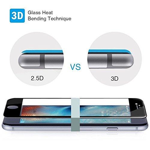 Protector de Pantalla Curvo para Samsung Galaxy A5 2017, Rosa, Cristal Vidrio Templado Premium, 3D / 4D / 5D