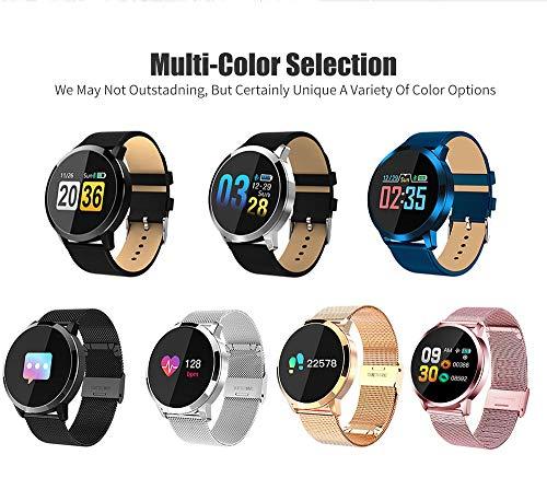 QWQW Smartwatch, Reloj Inteligente Android,Pulsera Actividad Inteligente para Deporte, Reloj Iinteligente Hombre Mujer niños, Reloj de Fitness con Podómetro Cronómetros