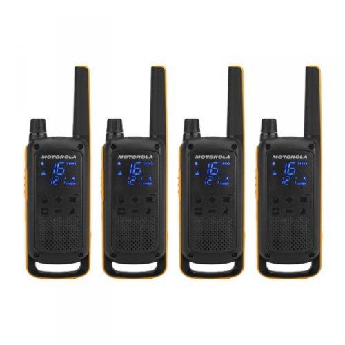 Radio Walkie - Talkie Motorola T82 - Quad Pack