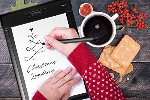Royole RoWrite - Bloc de Notas Digital de Papel Real y bolígrafo para Oficina y Negocios. Conversión a Dibujo de Texto con Folio y tecnología de Sensor Flexible